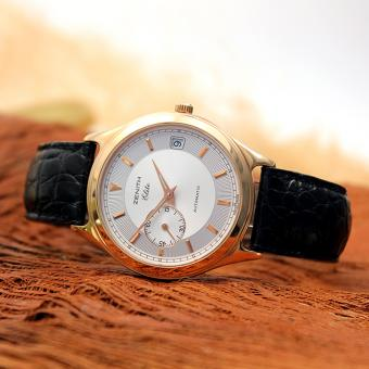 Zenith Elite Herren Armbanduhr Automatic 750er Rosè Gold Ref.170040680