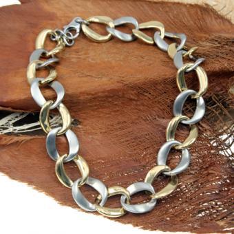 Street Collier Spezial IPG vergoldet 65913ST45