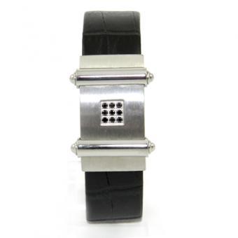 Street Leder/Stahl Armband RSP047BS