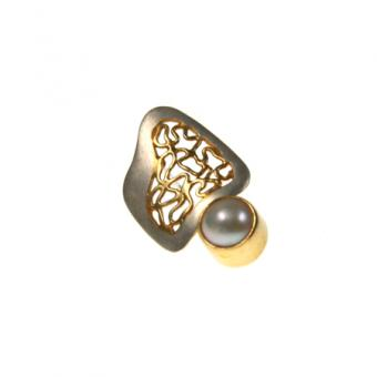 Ohrschmuck Silber vergoldet 102/2570