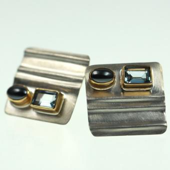 Ohrschmuck Silber vergoldet 102/2620