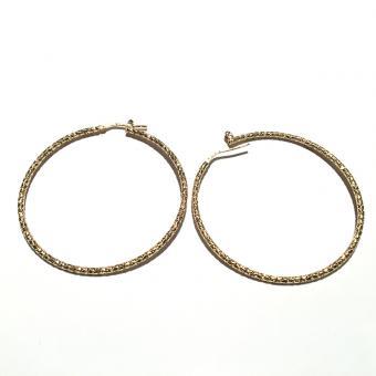 Creolen -DNA Jewels- diamantiert