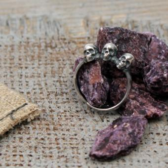 Edelstahl Ring von Clochard CR002