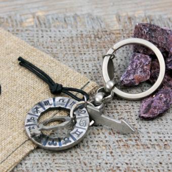 Edelstahl Key Ring von Clochard