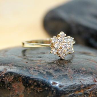 Brillant Ring 585er GR 58