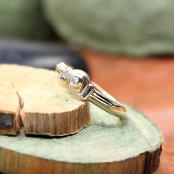 Diamant Ring Bi - Color 585er