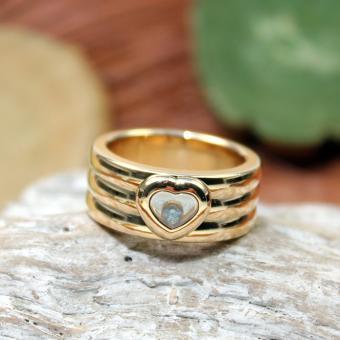 Chopard Happy Diamond Ring 750er GG