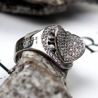 Pasquale Bruni Weißgold Herz Ring mit Brillanten