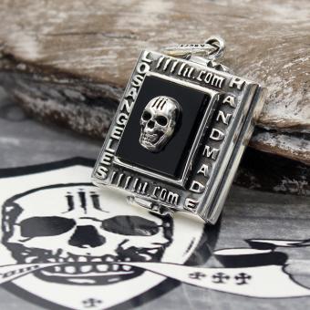 """JJJ LA Anhänger """" Handmade Skull"""" aus 925er Silber"""