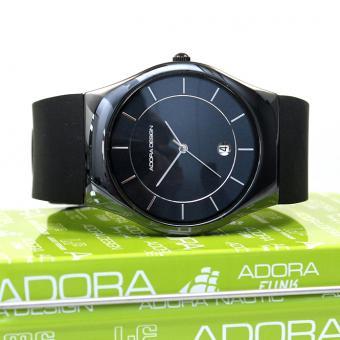 Adora Design Unisex Uhr Keramik Black AD8756