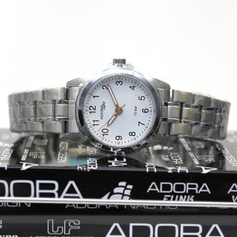 Adora Saphir Damen Armbanduhr AS4284 white