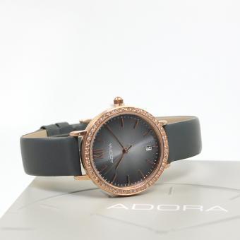Adora Damen Armbanduhr Edelstahl Roségold Cz AT513