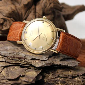 Longines Flagship 18Kt Gold Ref. 3501 automatic