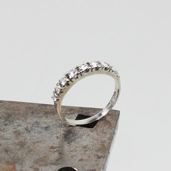 Memoire-Ring Weißgold 585 ca. 0,63 ct