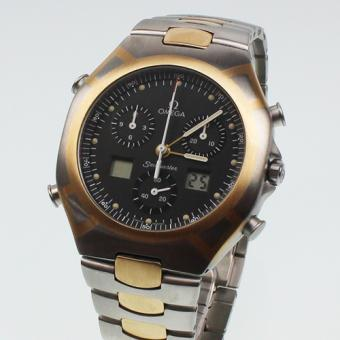 Omega Seamaster Polaris Chronograph 1/100 Stahl/Gold in Top Zustand