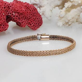 Rotgold Armband 750