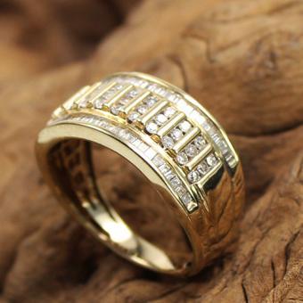 Diamant Ring 585 Gelbgold