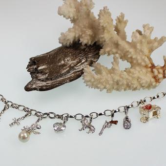 Thomas Sabo Bettelarmband Silber mit 8 Charms