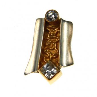 Ohrschmuck Silber vergoldet 102/2440