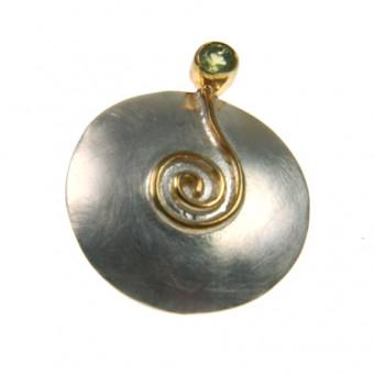 Ohrschmuck Silber vergoldet 102/2530