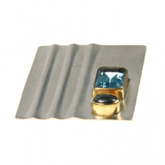 Brosche Silber vergoldet 105/2620