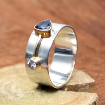 CARA Ring Silber vergoldet 101/2080 GR 57