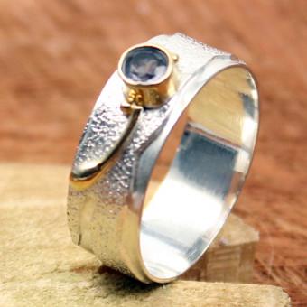 CARA Ring Silber vergoldet 101/1950 GR 57