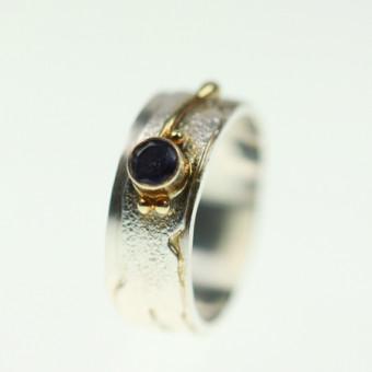 Ring Silber vergoldet 101/1950 Gr.55