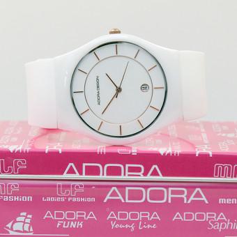 Adora Design Unisex Uhr Keramik Weiß AD8758