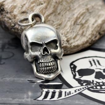 "JJJ LA ""Silver Skull"" Anhänger aus 925er Sterling"