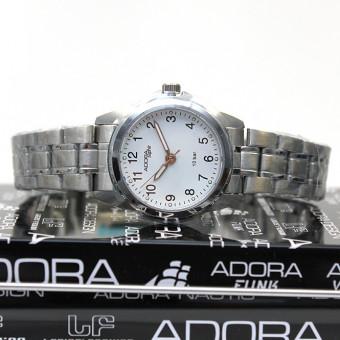 Adora Saphir Damen Armbanduhr AS4284 white