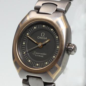 Omega Seamster Titan/Gold Damenuhr