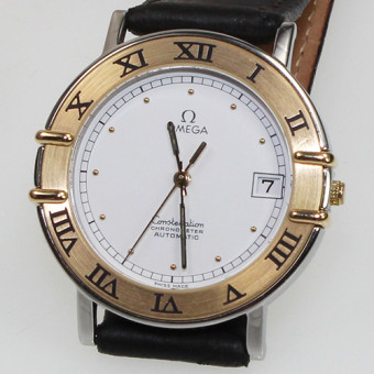 Omega Constellation Stahl Gold Chronometer Automatik