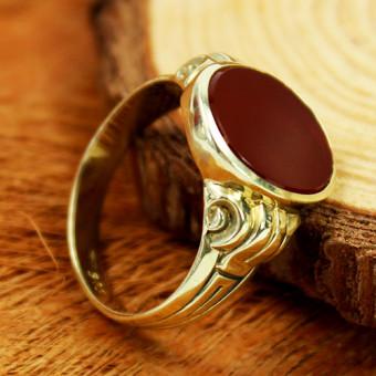 Siegel Ring 585 Gelbgold