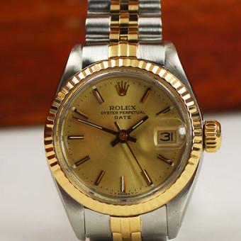 Rolex Date Stahl/Gold