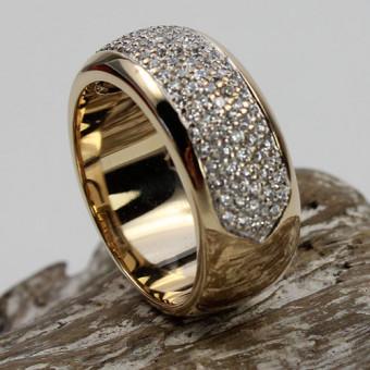 Christ Brillant Ring 585 Gelbgold
