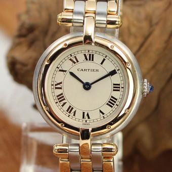 Cartier Panthére Ronde3 Streifen Gold