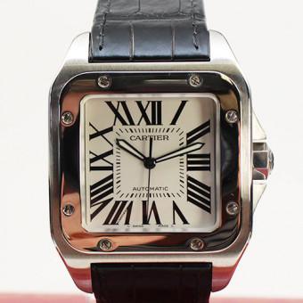 Cartier Santos 100 Herrenarmbanduhr Automatic