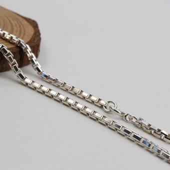 Venezianer-Kette 800 Silber 73 cm