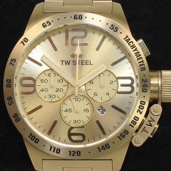TW Steel CB104 Canteen Bracelet Chronograph Herrenuhr 50mm