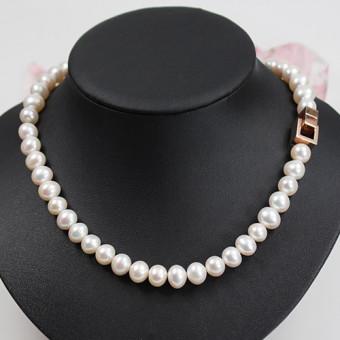 Süßwasser Perlenkette
