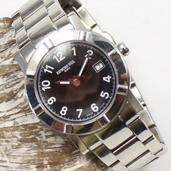 Raymond Weil 3030 Quarz Edelstahl Damen Armbanduhr