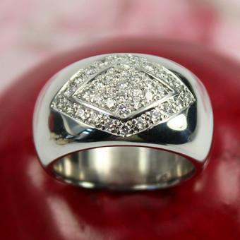 Brillant Ring 750 Weißgold