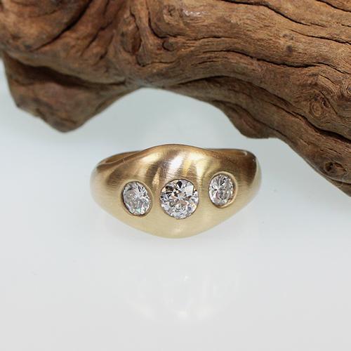 Diamantring 585 Gelbgold ca. 1,00 ct