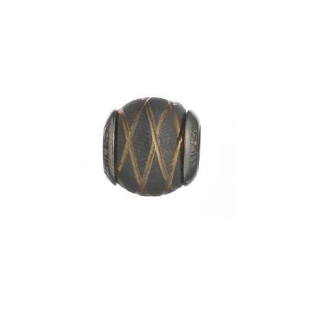 Lovelinks Bead Metallic Black Gold 2180008