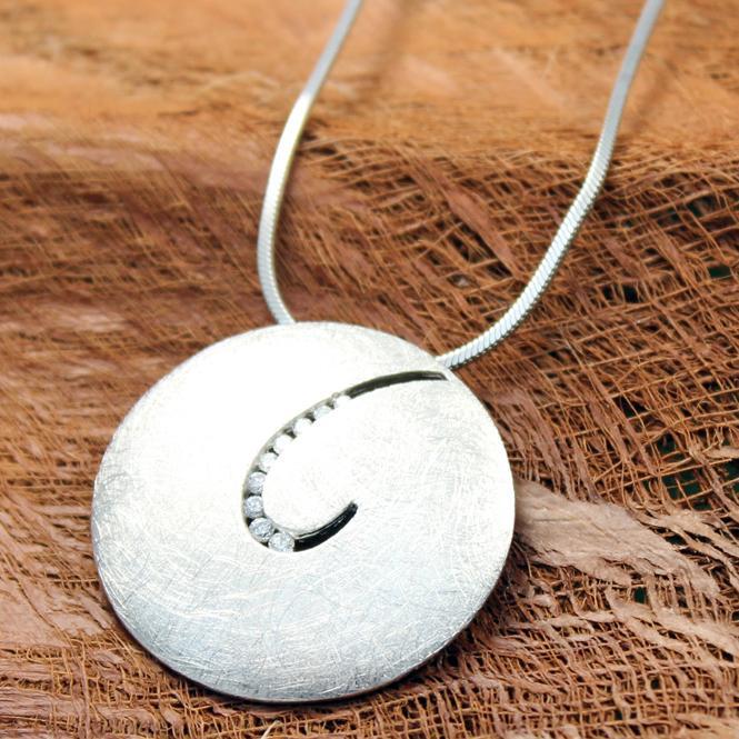 AAGAARD Silbercollier 21321008-45