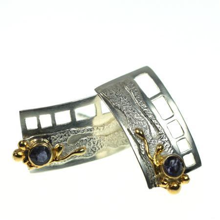 Ohrschmuck Silber vergoldet 102/2140