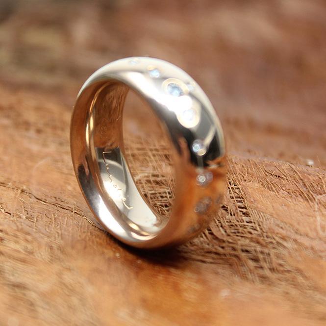c´est Laudier Ring mit 14 Brillanten