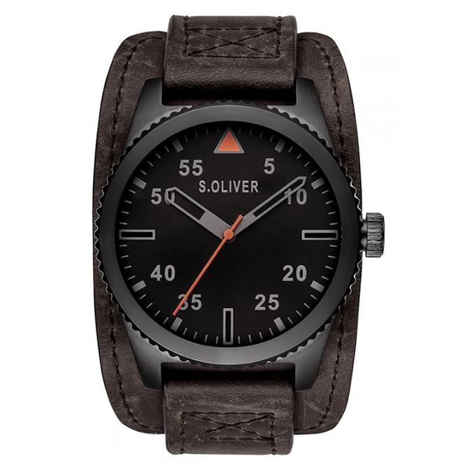 S.Oliver Herren Armbanduhr SO-2880-LQ