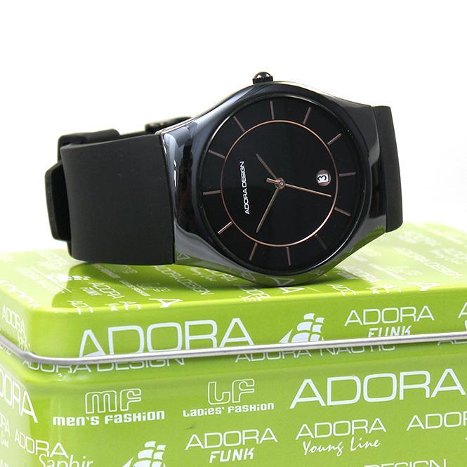 Adora Design Unisex Uhr Keramik Black AD8755